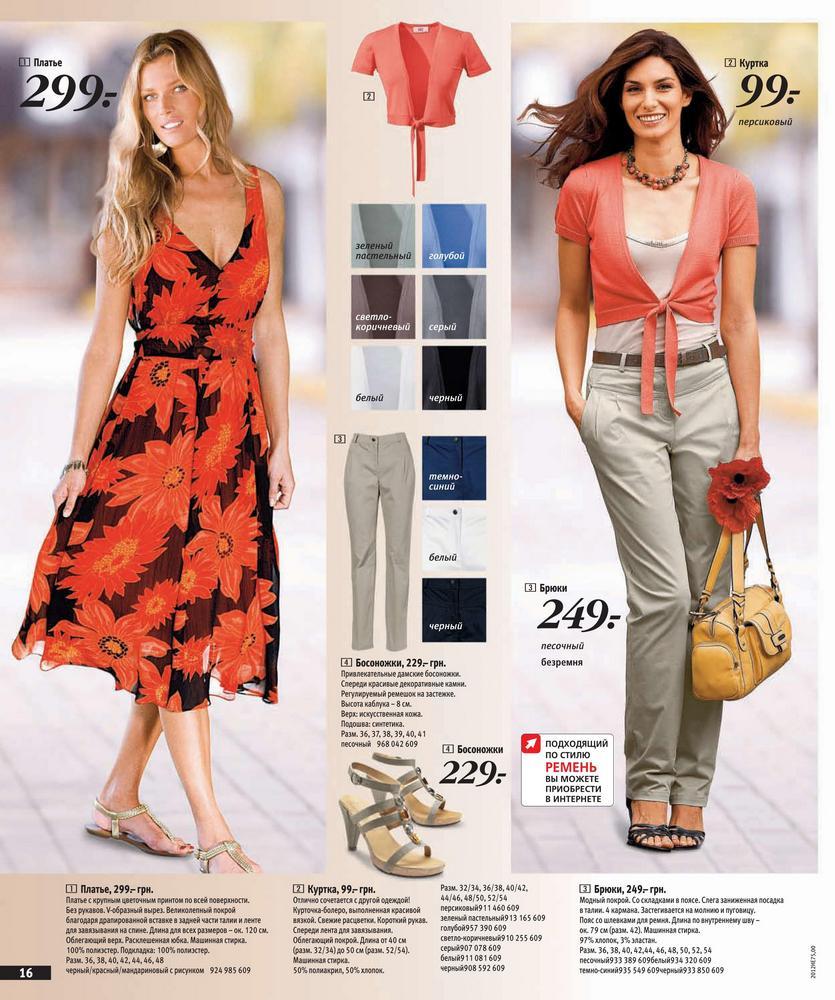 Каталоги Одежды Весна Лето 2014